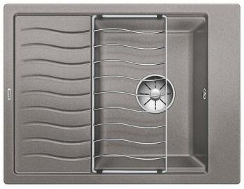 Blanco ELON 45 S InFino Silgranit aluminium obous. bez exc. + přísluš.- 524826
