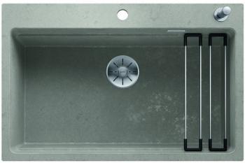 Blanco ETAGON 8 InFino Silgranit Beton-Style s excentrem+pojezdy - 525301