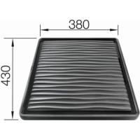 Blanco Odkapávací deska vlnitá pro dřezy pod desku plast 430x380 - 230734