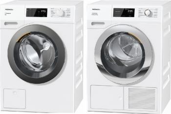 Miele WED135 WCS 8kg + TEF655 WP EcoSpeed&8kg
