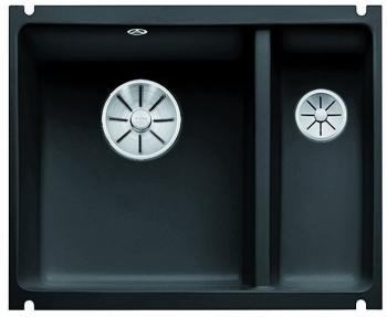 Blanco SUBLINE 350/150 U InFino Keramika černá dřez vlevo bez excentru - 523747