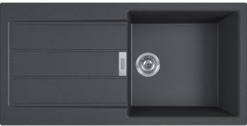Franke S2D 611-100 Černá