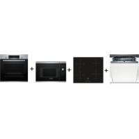 Bosch HBA513BS1 + BFL523MS0 + PUE611BB1E + SMV53L50EU