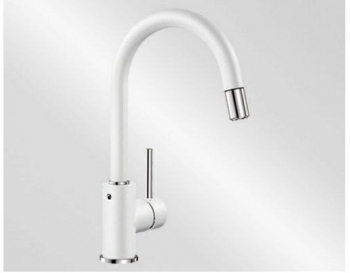 Blanco MIDA-S Silgranit-look bílá - 521457