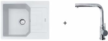 Franke SET G181- UBG 611-62 bílá led + FN 0147.031