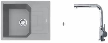 Franke SET G181 - UBG 611-62 šedý kámen + FN 0147.031