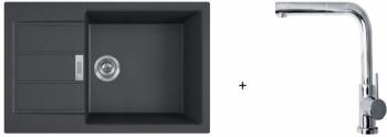 Franke SET T88 - S2D 611-78 XL černá + FN 0147