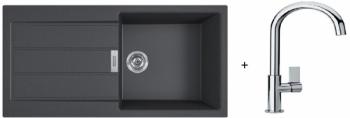 Franke SET T92 - S2D 611-100 černá + FP 0408.031