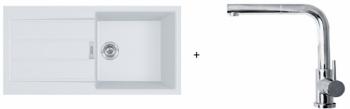Franke SET T77 - S2D 611-100 bílý + FN 0147