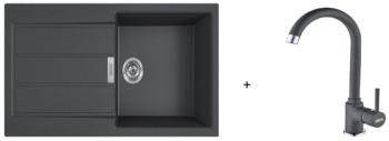 Franke SET T78 - S2D 611-100 černá + FP 9900 černá