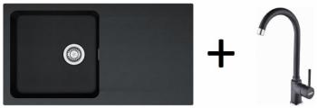 Franke SET T41 - OID 611 černá + FP 9000 onyx