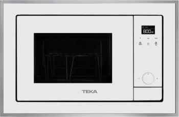 Teka ML 820 BIS Bílé sklo s nerezovým rámem