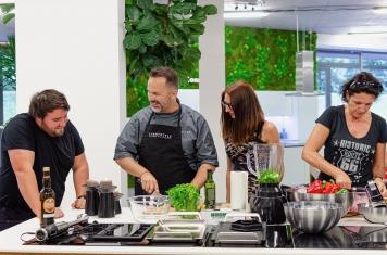 Kurz vaření vaření v páře s večeří 1.8.2019