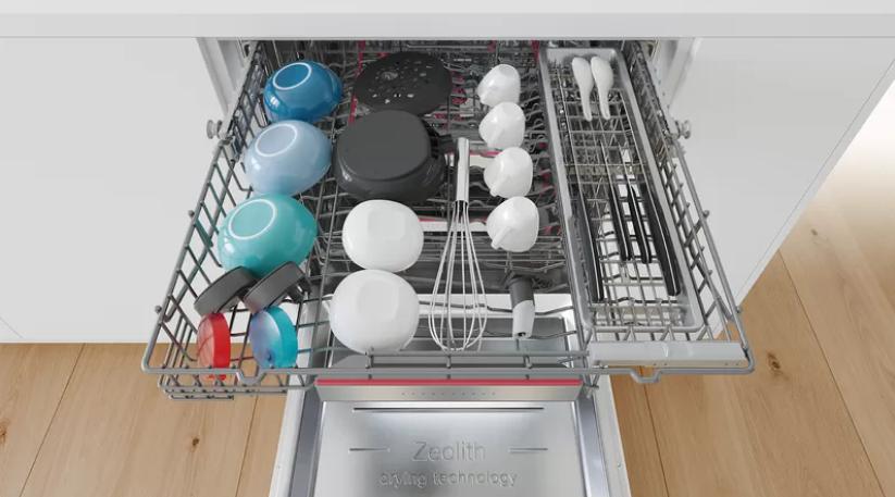 Více místa pro menší kusy nádobí