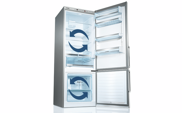 Dva nezávislé chladicí okruhy pro větší pohodlí a úsporu energie