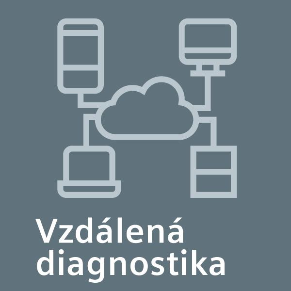 Vzdálená diagnostika: nechte naše profesionály analyzovat problémy spotřebiče pomocí vzdáleného přístupu.