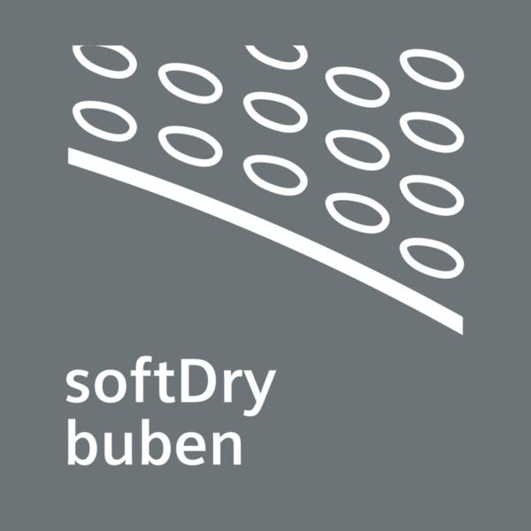 Systém bubna softDry - extrémne jemné sušenie.