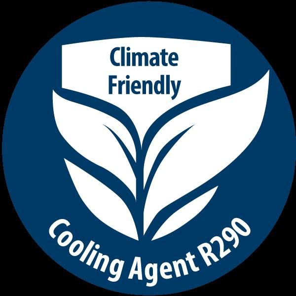 Sušička prádla s chladivem (R290) nejšetrnějším k životnímu prostředí
