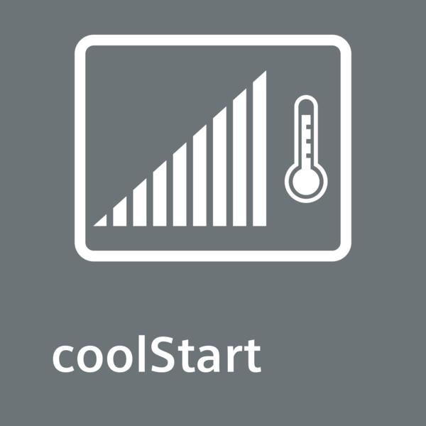 Život bez předehřevu vám ušetří mnoho času: funkce coolStart.