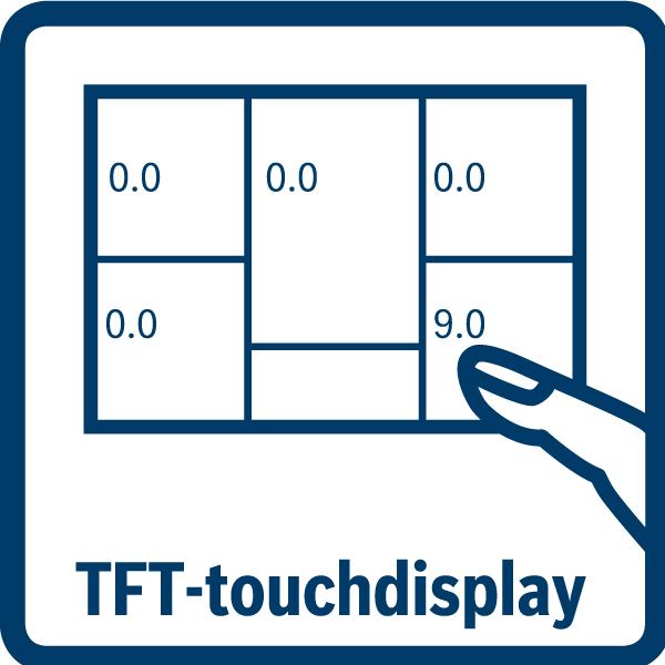 Jednoduché ovládanie TFT dotykového displeja