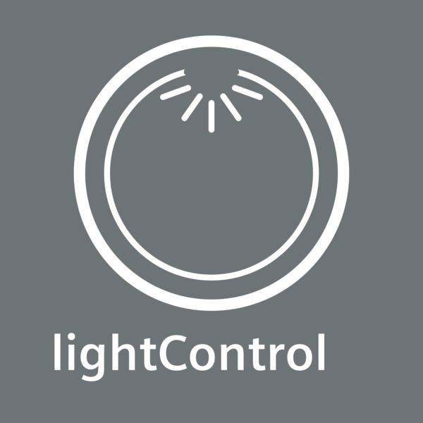 Intuitivní nastavení díky podsvícenému otočnému voliči:lightControl