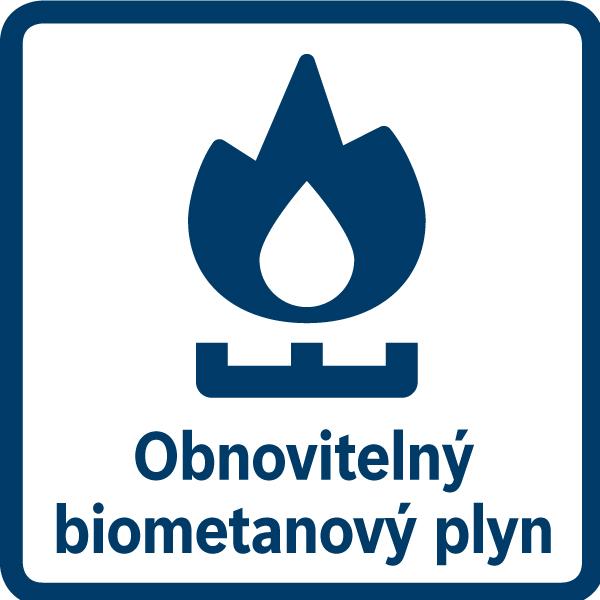 Vaši plynovú varnú dosku môžete pripojiť aj na obnoviteľný biometanový plyn, ktorý je kompatibilný s bežnými tryskami na zemný plyn.