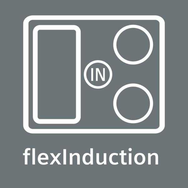 Flexibilní varná zóna pro flexibilní vaření: flexInduction