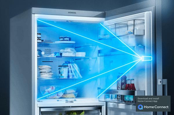 Kamera v chladničce: zkontrolujte obsah své chladničky odkudkoli a kdykoli budete chtít.
