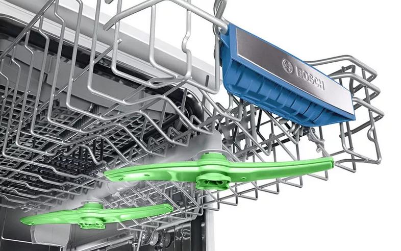 Ostřikovací ramena DuoPower zajišťují šetrné mytí s optimálním výsledkem
