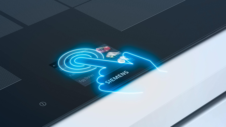 Pro snadnou obsluhu a dobrou čitelnost z jakéhokoli úhlu: TFT dotykový touchdisplej.