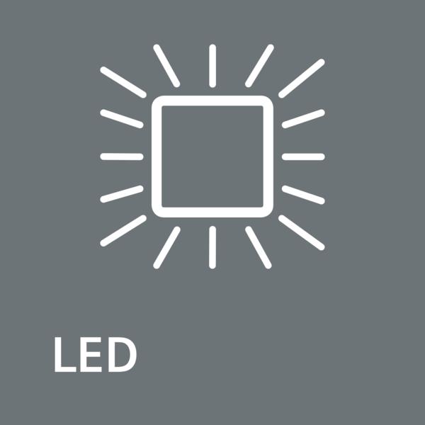 Jasné a svieža: LED osvetlenie.