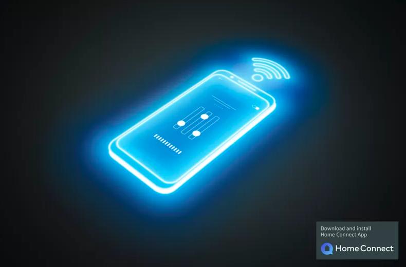 Diaľkové ovládanie - vyberte a spúšťajte programy prostredníctvom aplikácie Home Connect.