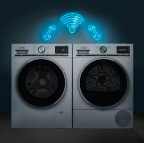 IntelligentDry umožní vašej sušičke zvoliť si správny program podľa programu použitého v práčke.