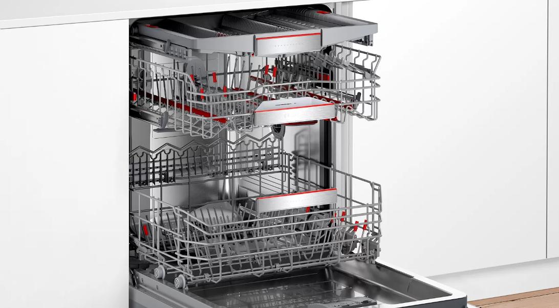 Vestavná myčka nádobí Bosch SMV88TX46E Sušení pomocí Zeolith®