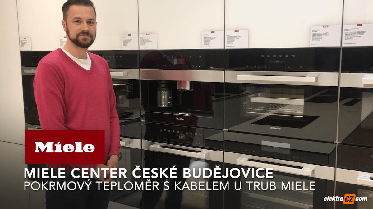 Miele Center České Budějovice | Pokrmový teploměr s kabelem u trub Miele