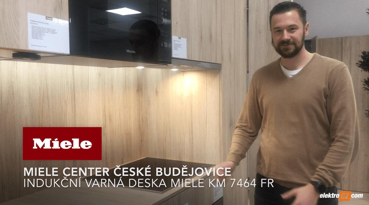 Miele Center České Budějovce   Indukční varná deska Miele KM 7464 FR